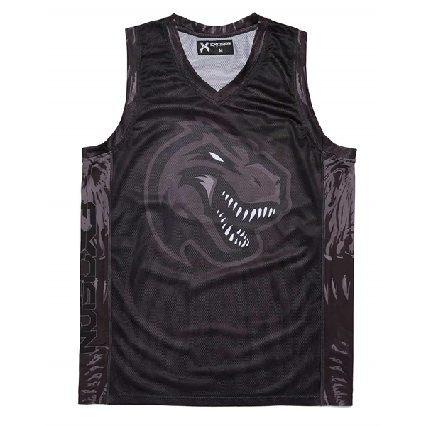Sublimated Dry Fit Custom Men's Reversible Basketball Tops