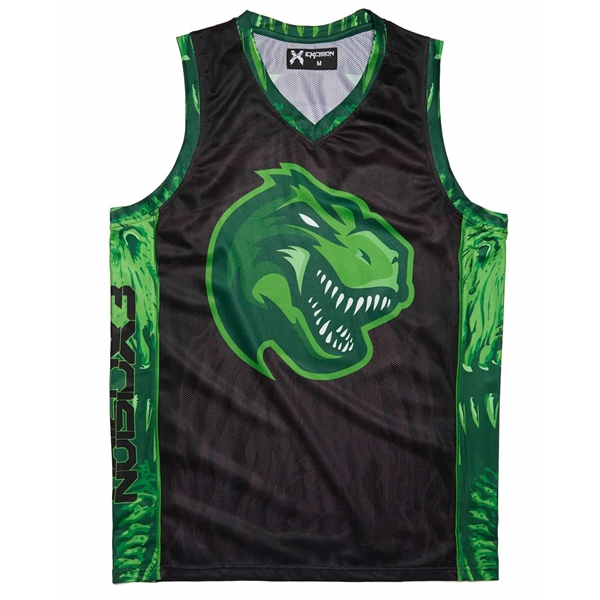Sublimated Dry Fit Custom Women's Reversible Basketball Tops