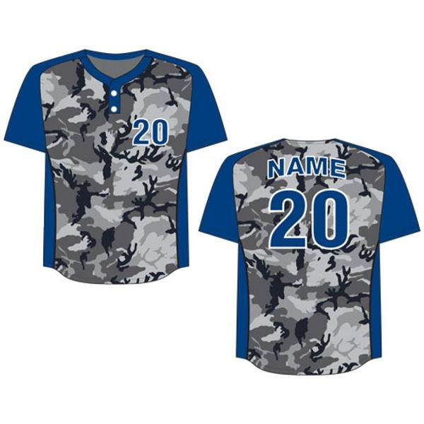 Sublimated Dry Fit Custom Women's Baseball Jersey