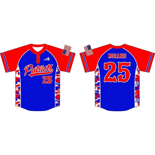 Sublimated Dry Fit Custom Youth Baseball Jersey