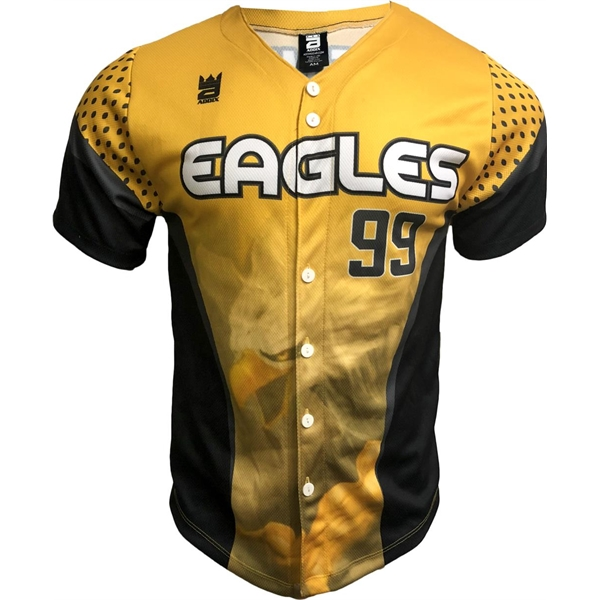 Sublimated Dry Fit Custom Men's Baseball Jersey