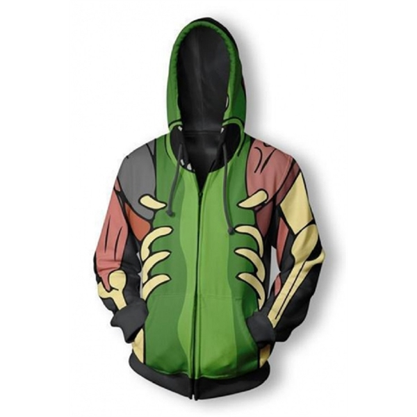 Sublimated Dry Fit Custom Youth Zippered Hoodies