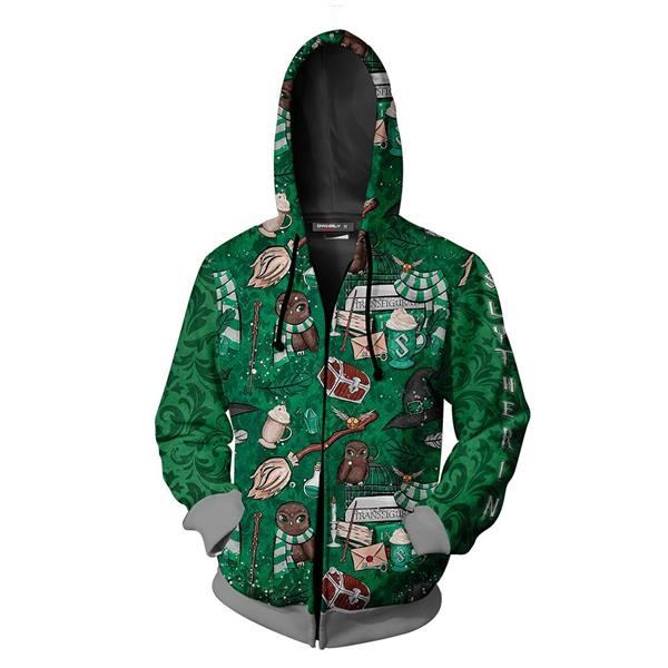 Sublimated Dry Fit Custom Women's Zippered Hoodies