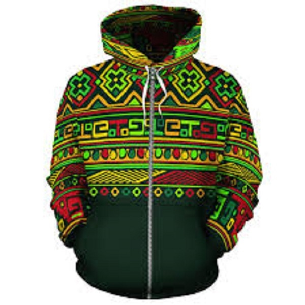 Sublimated Dry Fit Custom Men's Zippered Hoodies