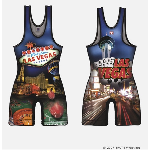 Sublimated Dry Fit Custom Women's Wrestling Singlets