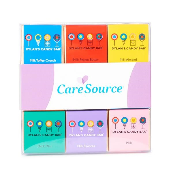 18 Piece Chocolate Square Pack with Sleeve