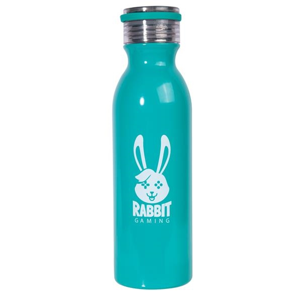 20 oz. The Retro Stainless Steel Water Bottles