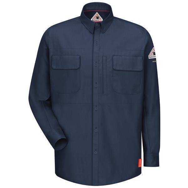 Bulwark® Men's iQ Series® Comfort Woven Patch Pocket Shirt