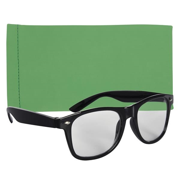 Reader Glasses With Eyeglass Pouch