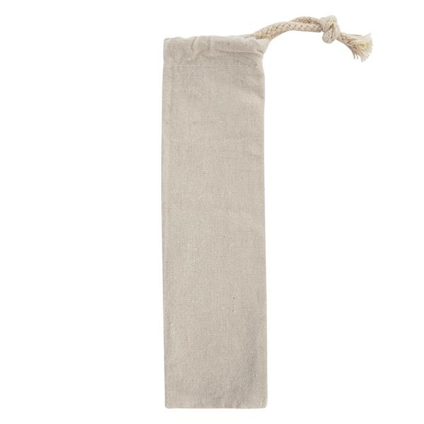 Park Avenue Stainless Straw Kit with Cotton Pouch