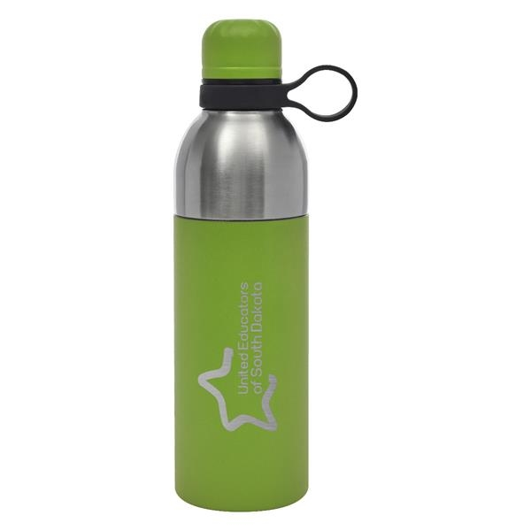 18 Oz. Maxwell Easy Clean Stainless Steel Bottle