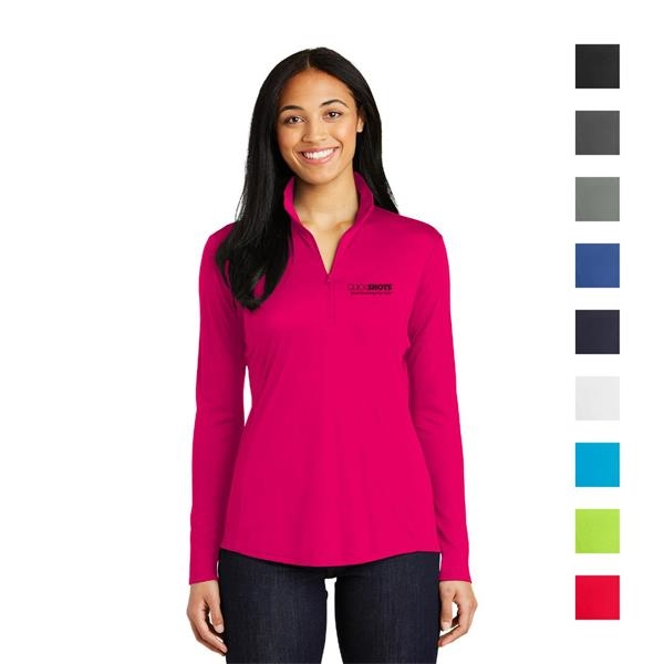 Ladies PosiCharge® Competitor™ 1/4-Zip Pullover