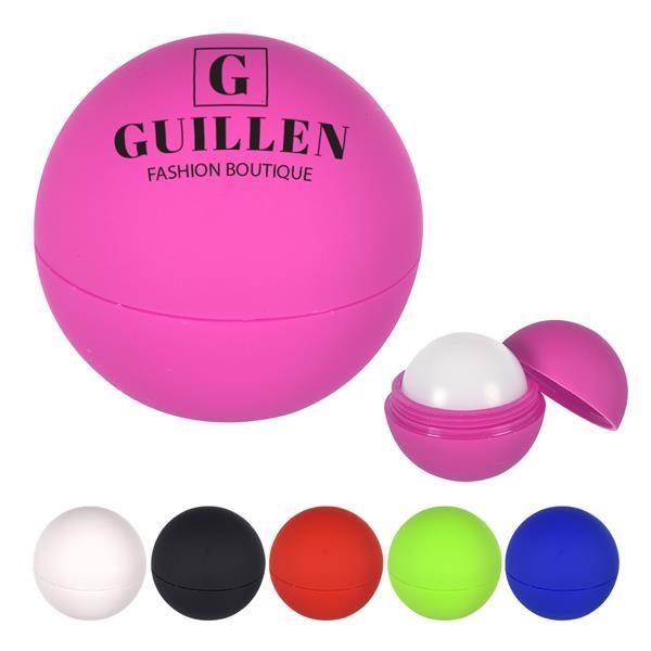 Rubberized Lip Moisturizer Ball