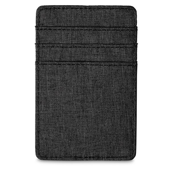 Heathered RFID Wallet with 6 Card Pockets