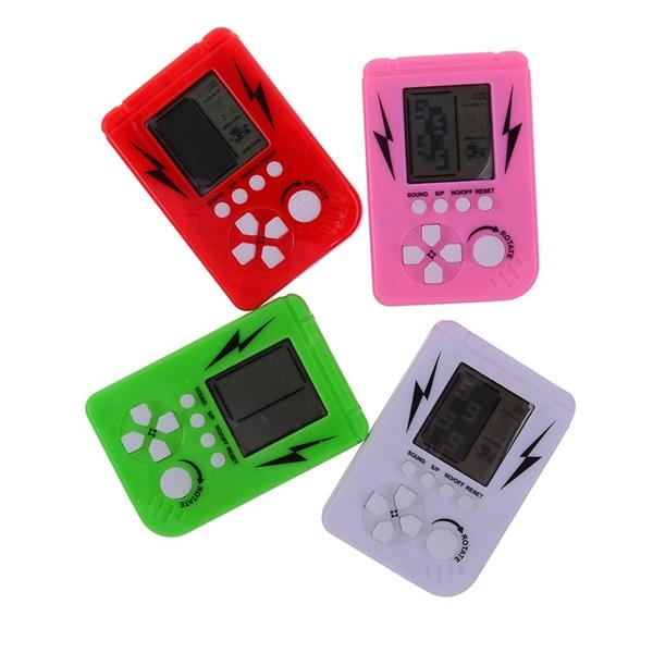 Portable Keychain Kids Adults Anti-Stress Mini Game Console