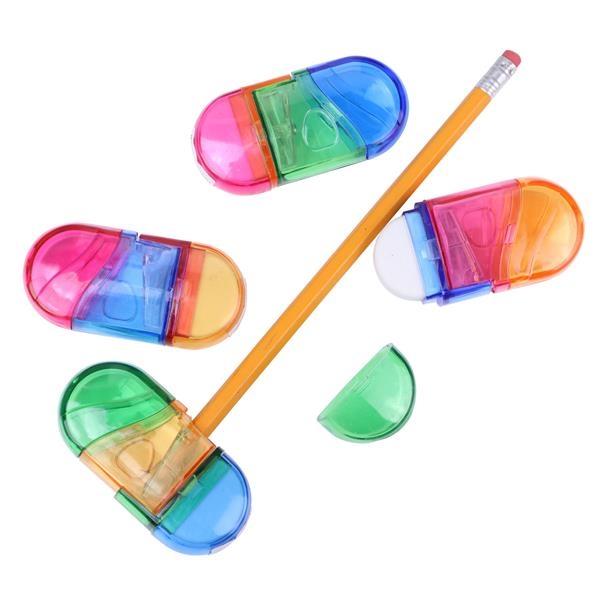 Combination Eraser Pencil Sharpener