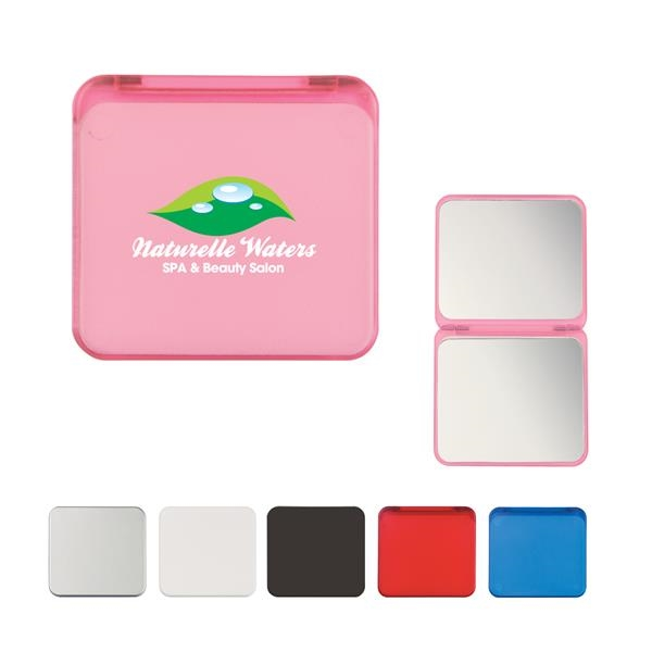 Compact Mirror With Dual Magnification