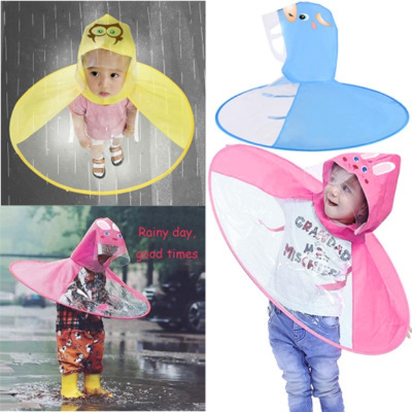 Collapsible Rain Jacket