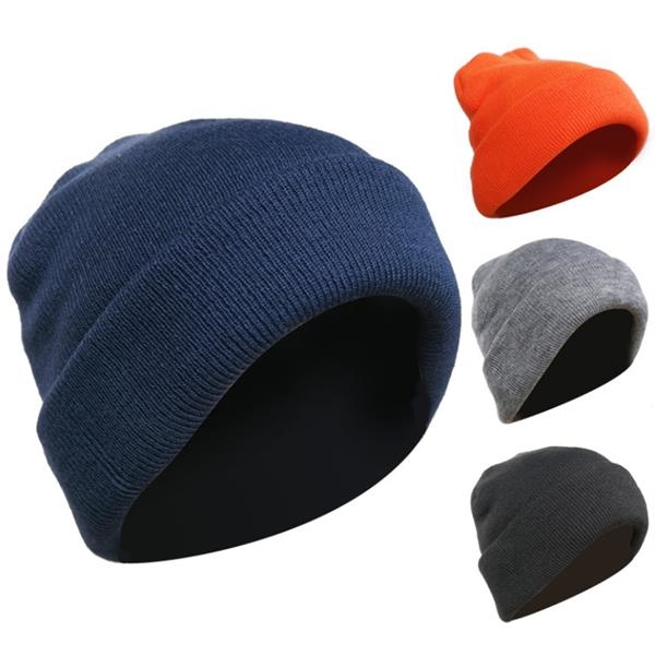 Acrylic Knit Beanies