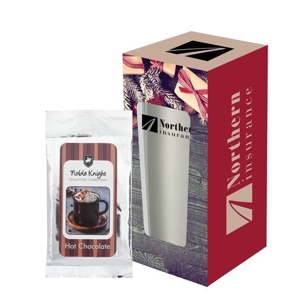 20 Oz. Himalayan Tumbler With Cocoa And Custom Window Box