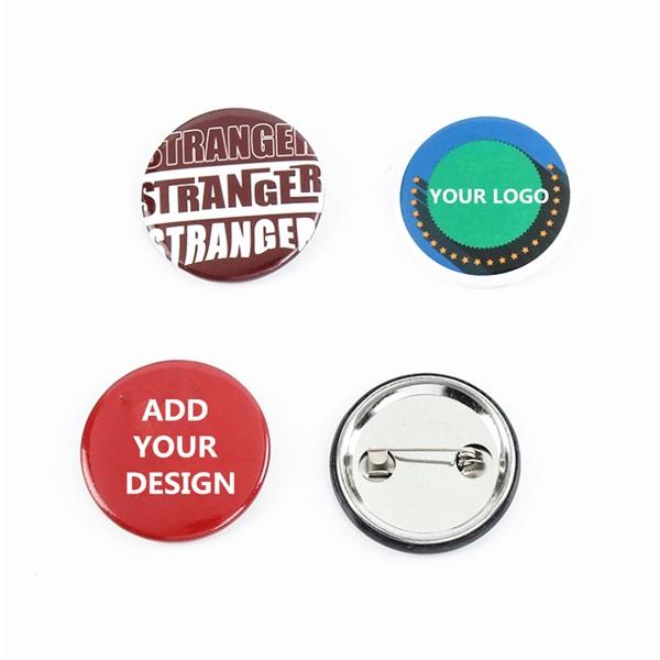 Round Custom Pinback Buttons
