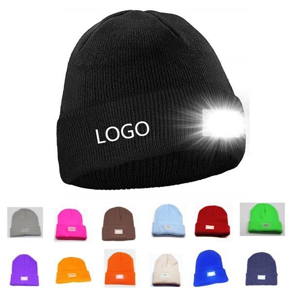 Unisex 5 LED knit Beanie Hat