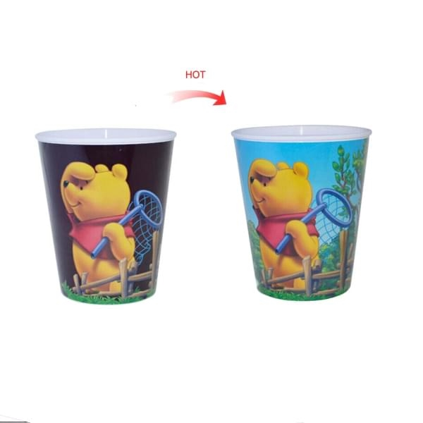 PP Cup Sublimation Transfer Color Changing