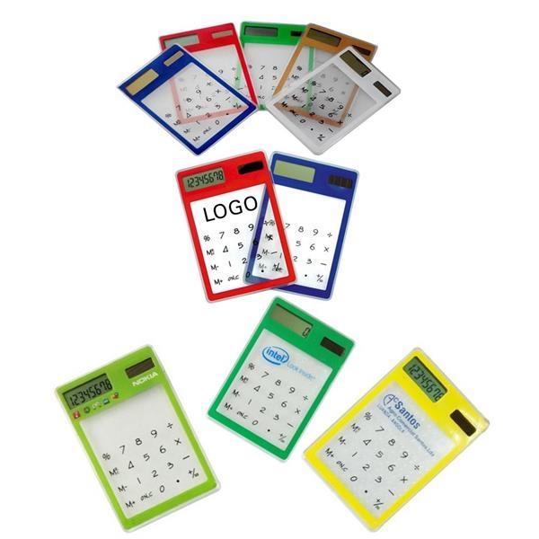 Portable Solar 8-digit Calculator