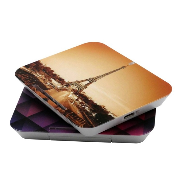 10W Fast Wireless Charger With Full Color Printing And Phone