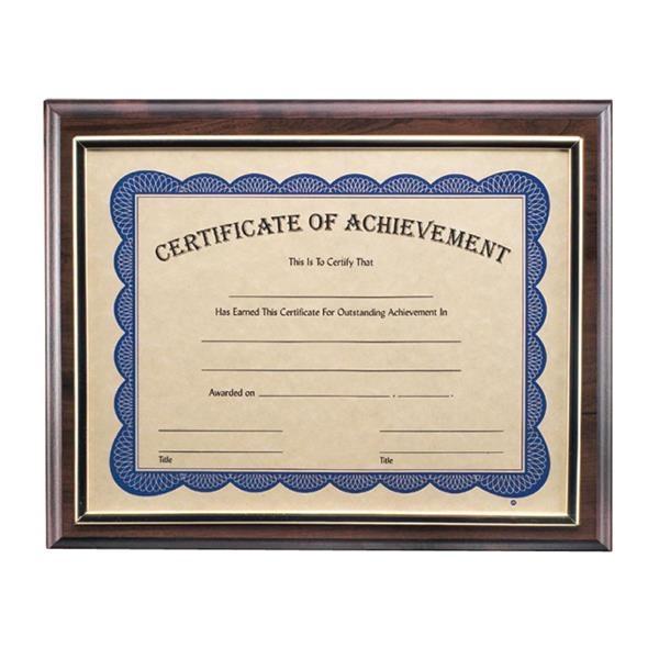 Trafford Certificate Holder