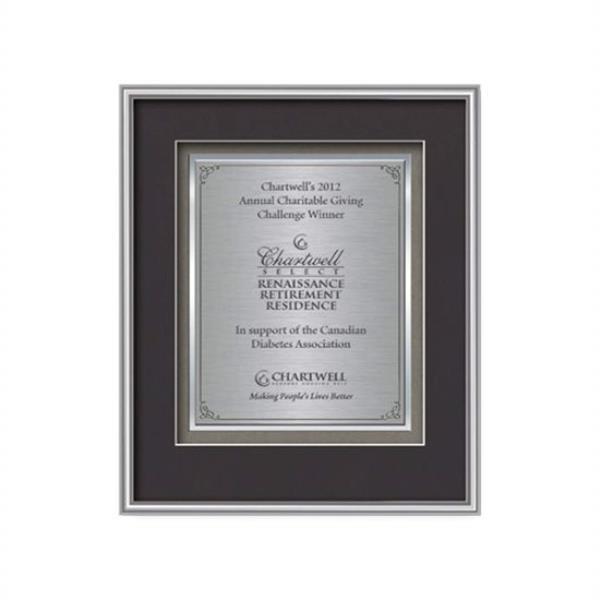 Fenestra Certificate TexEtch Vert - Silv
