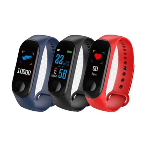 Smart Watch Fit Wristband Fitness Tracker with Heart Rate