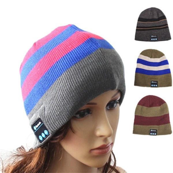 Bluetooth Hat Wireless Music Soft Hat Warm Beanie