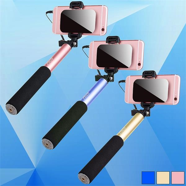 Portable Selfie Stick With Large Mirror