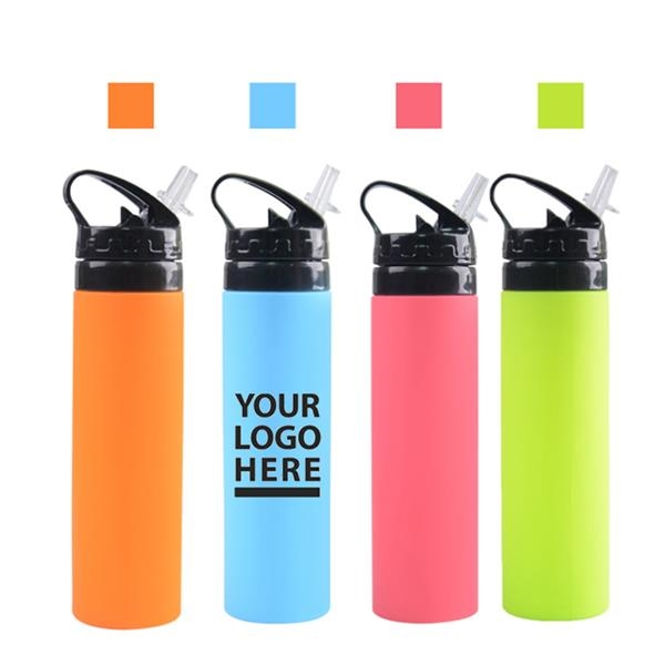Foldable Outdoor Sports Water Bottles