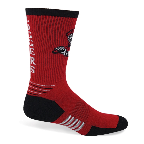 One Size Fits Most Athletic Cotton Crew Sock