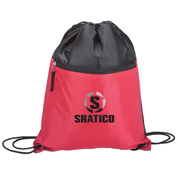 Super Sport Bag with Zip Pocket
