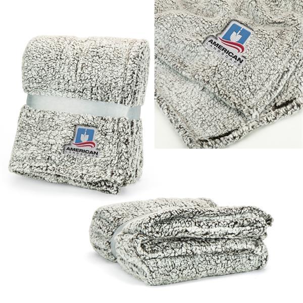 Iced Sherpa Blanket
