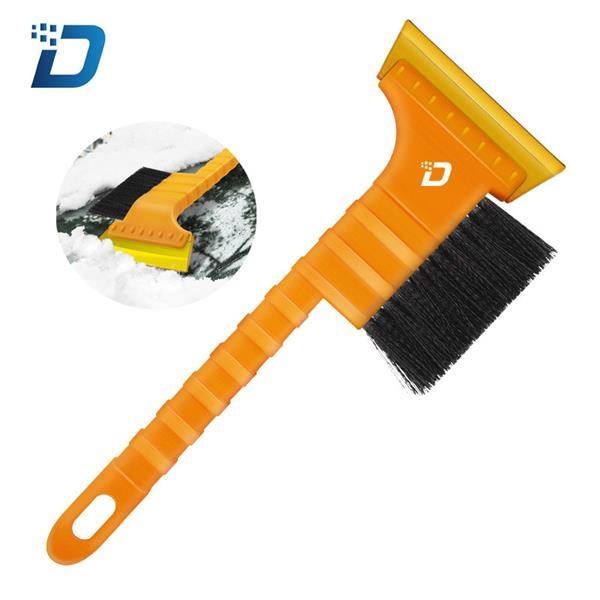 Yellow Snow Scraper with Brush