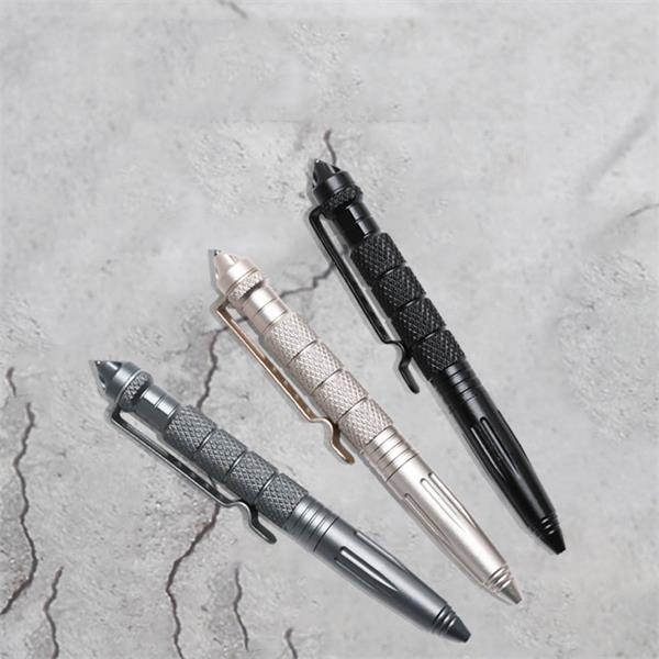 Multi-functional Metal Self-defense Ballpoint Pen