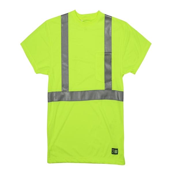Men's Hi-Vis Class 2 Performance Pocket T-Shirt