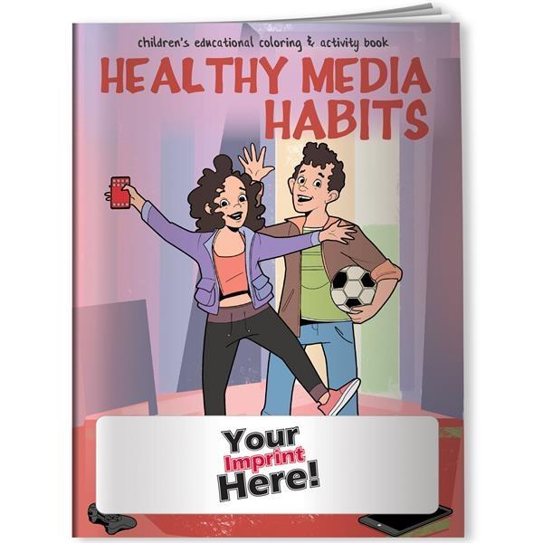 Coloring Book - Healthy Media Habits