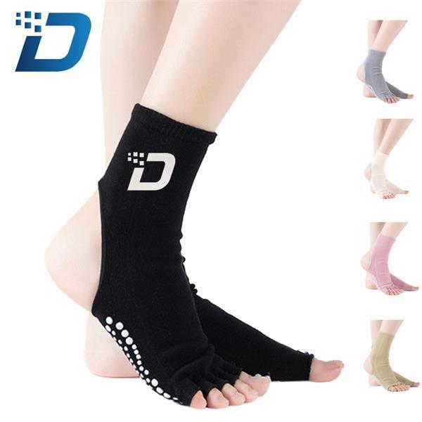 Cotton Mid-tube Yoga Socks