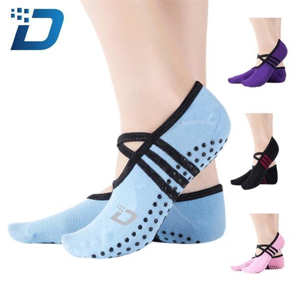 Custom Lace-up Yoga Socks