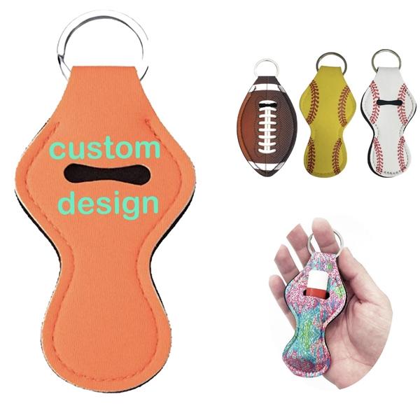 Custom Chapstick Holder Keychain