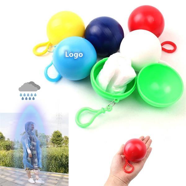 Mini Portable Spherical Raincoat