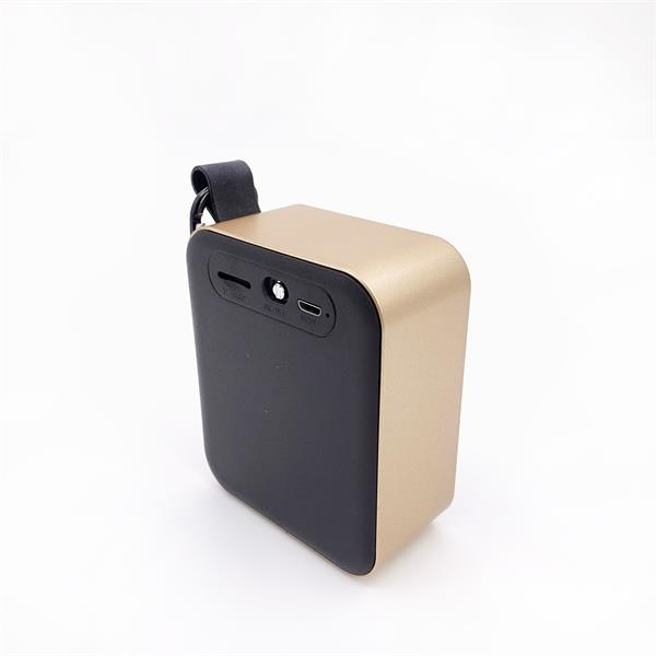 Mini Square bluetooth speaker with 400MAH battery