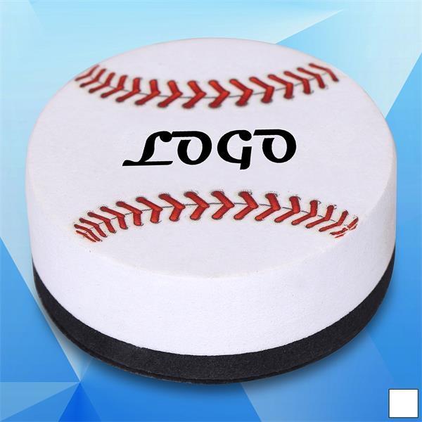 Baseball Shaped Magnetic White Board Eraser