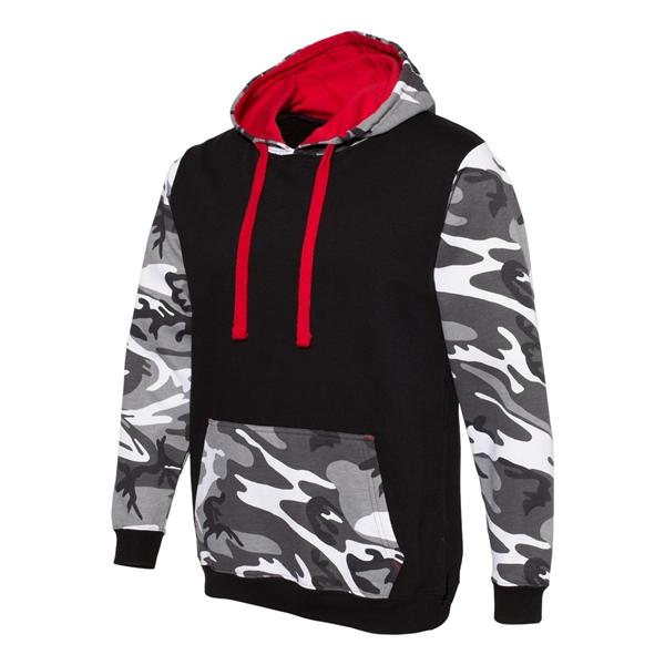 Code Five Fashion Camo Hooded Sweatshirt