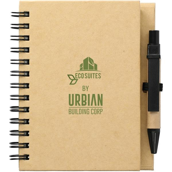 """4"""" x 5"""" Eco Stone Notebook with Pen"""